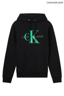 Calvin Klein Jeans Black Monogram Hoodie