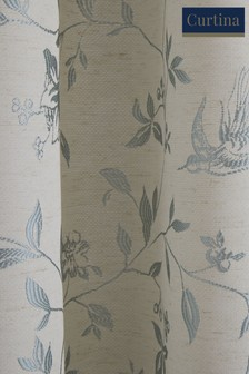 Curtina Bird Trail Pencil Pleat Curtains