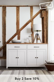White Thornley Large Sideboard