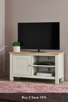 Cream Malvern Cream TV Stand