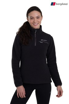 Berghaus Black Darria Half Zip Fleece Top