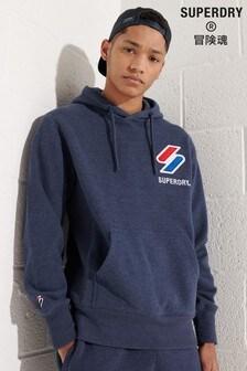 Superdry Sportstyle Appliqué Hoodie