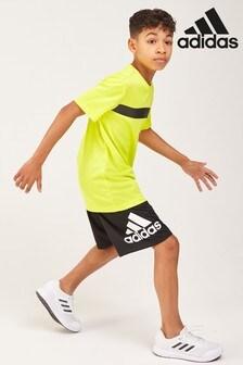 adidas Black Logo Short
