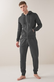 Cuffed Joggers And Hoodie Set