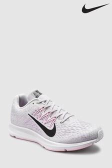 Pink/Grey  Nike Run Air Zoom Flo 5