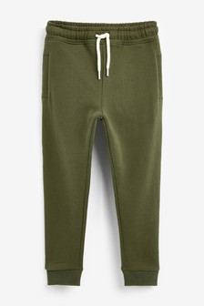 Khaki Super Sueded Joggers (3-16yrs)