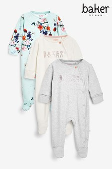 Baker by Ted Baker Sleepsuits 3 Pack