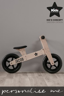 Personalised Wooden Bike by Swedish Concepts