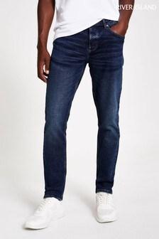 River Island Mid Wash Blue Dylan Slim Jeans
