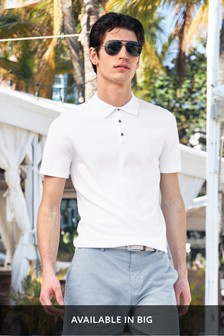 White Premium Polo Shirt