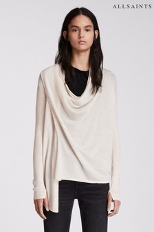 AllSaints Drina Zipped Cardigan