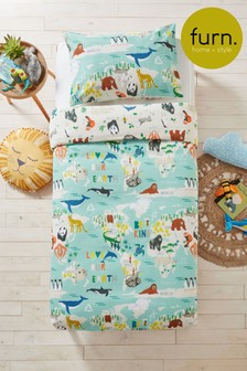 Furn Blue Love Our Earth Bedset