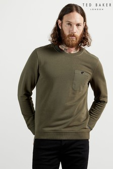Ted Baker Green Singer Sweatshirt