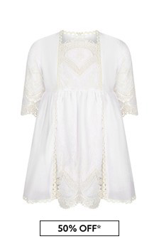 Miranda Cream Cotton Dress