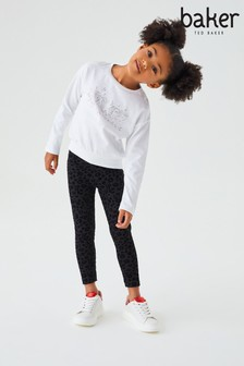 Baker by Ted Baker Sparkle Graphic Sweat Top