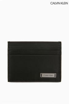 Calvin Klein Smooth Plaque Cardholder
