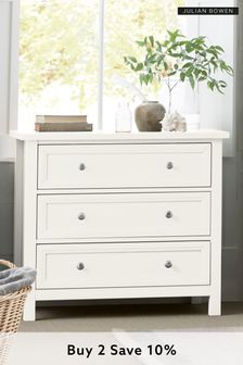 Surf White Harbour Standard Chest by Julian Bowen