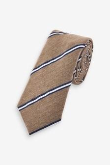 Brown/Navy Stripe Tie