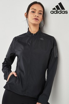6e9402255b27 Black adidas Black Own The Run Jacket