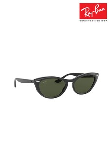 Ray-Ban® Black Cat Eye Sunglasses