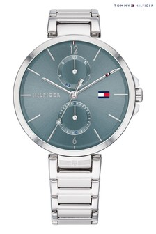 Tommy Hilfiger Silver Tone Stainless Steel Watch