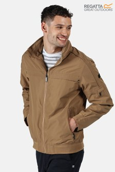 Regatta Brown Montel Waterproof Bomber Jacket