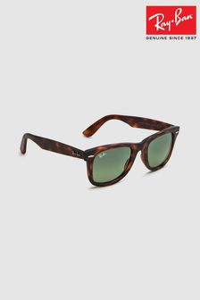Ray-Ban® Red Havana Wayfarer Sunglasses