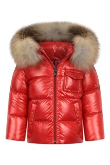 Baby Red Down Padded K2 Jacket