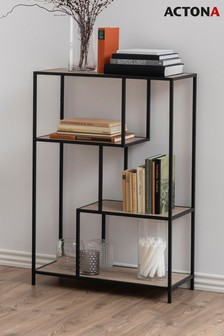 Black Seaford Mid Shelf By Actona