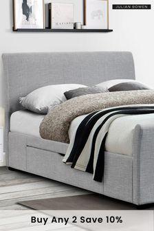 Capri Fabric Bed By Julian Bowen