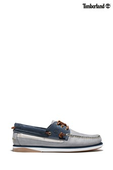 Timberland® Grey Atlantis Break Boat Shoes