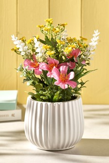 Mothers Day Faux Floral Plant