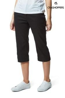 Craghoppers Black Kiwi Pro Capri Shorts