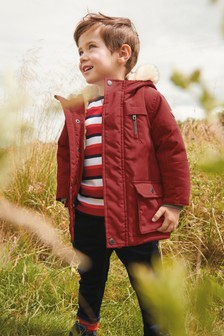 Red Parka (3mths-7yrs)