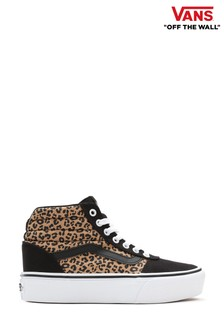 Vans Leopard Ward High Top Trainers