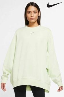 Nike Trend Fleece Oversized Crew Sweater