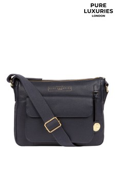 Pure Luxuries London Tindall Leather Shoulder Bag