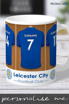 Personalised Leicester City Mug by Personalised Football Gifts
