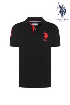 U.S. Polo Assn. Double Horsemen Large Pique Poloshirt