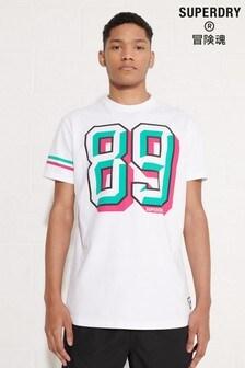 Superdry Sport Grit Number T-Shirt