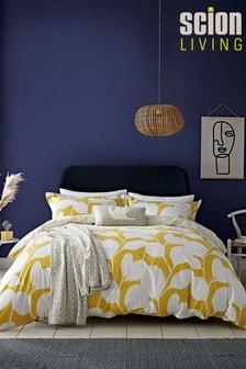 Scion Ocotillo Abstract Cotton Duvet Cover and Pillowcase Set