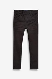 Black  Five Pocket Super Skinny Fit Jeans (3-16yrs)