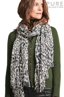 Pure Collection Animal Ultra Soft Printed Scarf
