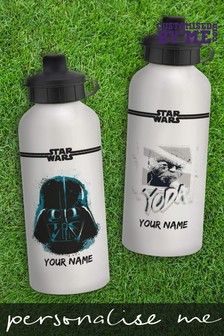 Personalised Star Wars™ Water Bottle by Customised By Me