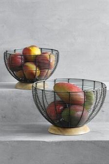 2 Pack Fruit Bowl