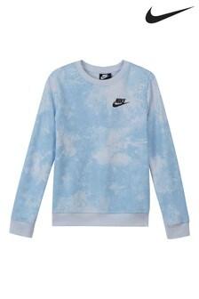 Nike Sportswear Tie Dye Sweat Top