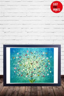 The Singing Tree by Fiona Watson Framed Print