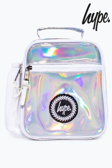 Hype. Silver Holographic Lunch Box