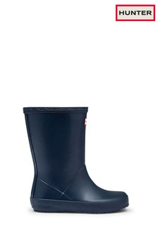Hunter Navy First Classic Welly