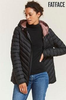 FatFace Black Ruby Padded Jacket